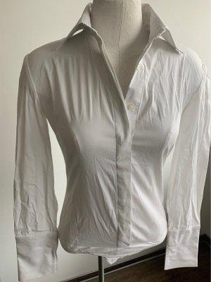 Patrizia Pepe Body koszulowe biały