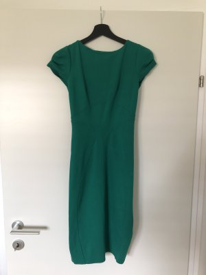 Closet Pencil Dress forest green viscose
