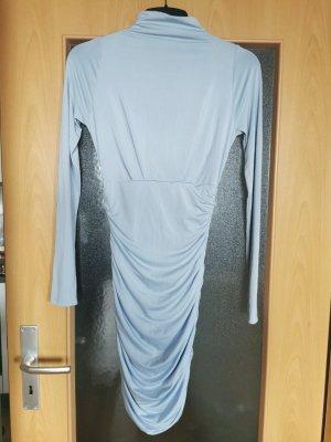 Fashionnova Vestido cut out azul celeste Poliéster