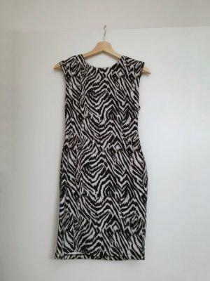 Bodycon-Kleid in Zebraoptik