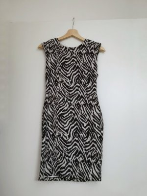 Bodycon-Kleid in Zebraoptik