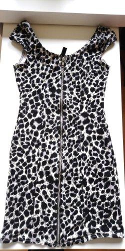 Bodycon Kleid Leopardenmuster