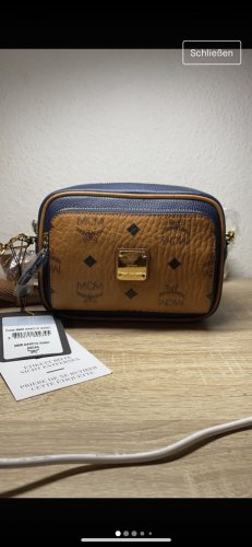 MCM Crossbody bag brown-blue