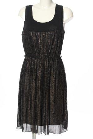 Bodyflirt Abito blusa nero-bronzo stile casual