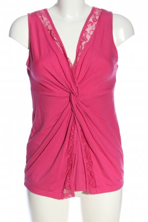 Bodyflirt Blusa senza maniche rosa stile casual