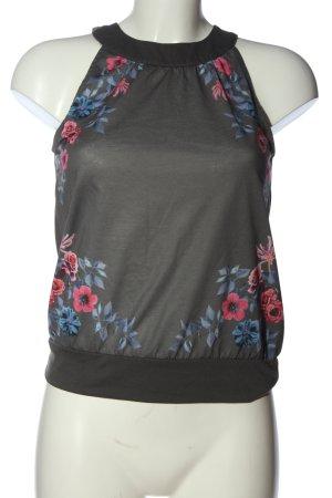 Bodyflirt Bluzka bez rękawów Wzór w kwiaty W stylu casual