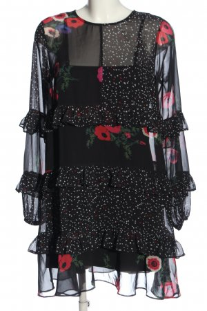 Bodyflirt Sukienka koszulowa Wzór w kwiaty W stylu casual