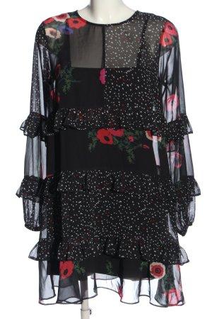 Bodyflirt Blusenkleid Blumenmuster Casual-Look