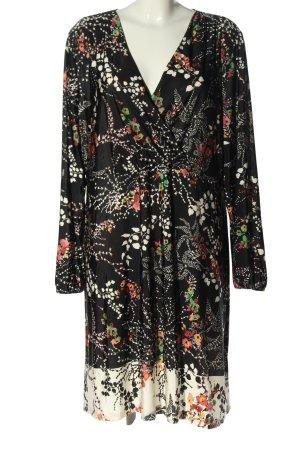 Bodyflirt Sukienka koszulowa Abstrakcyjny wzór W stylu casual