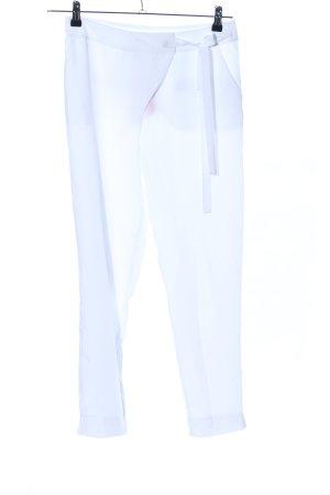 Bodyflirt Pantalon à pinces blanc style décontracté
