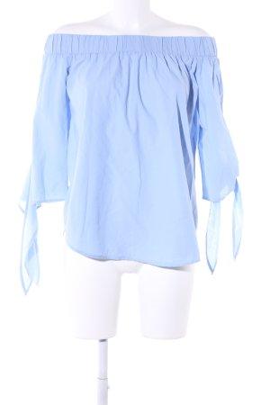 Bodyflirt Carmen-Bluse blau Casual-Look