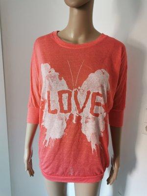 Bodyflirt Damen oversized Maxshirt Longshirt Größe 36/38