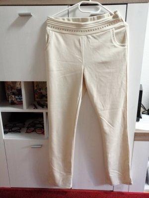 Bodyflirt Pantalone fitness crema-bianco sporco Tessuto misto
