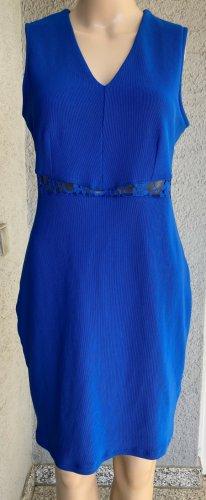Bodyflirt Etuikleid blau Business elegant schick stahlblau blau Bleistift Kleid Sommerkleid Anlass Fest wundervolles Etui Kleid Gr. 38 NEU Coachella Party Sommer Etuikleid Neu