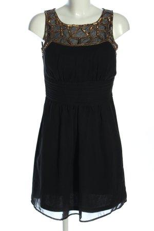 Bodyflirt Etuikleid schwarz-bronzefarben Elegant