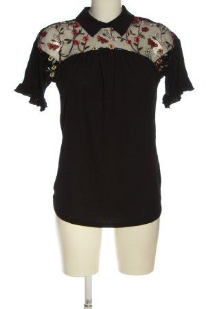 Bodyflirt Shirt Blouse weave pattern casual look