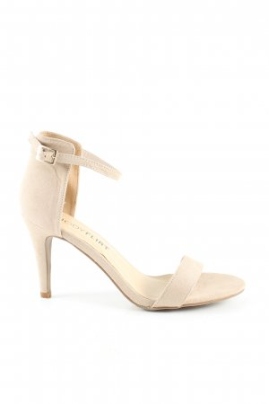 Bodyflirt High Heel Sandaletten creme Casual-Look
