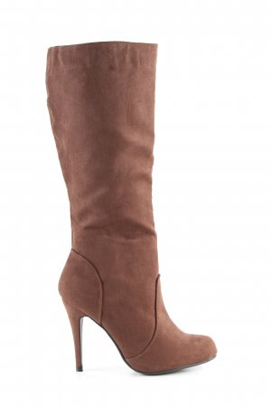 Bodyflirt High Heel Boots brown casual look