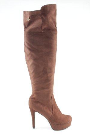 Bodyflirt High Heel Stiefel braun Casual-Look