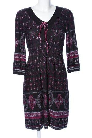Bodyflirt Jerseykleid abstraktes Muster Casual-Look