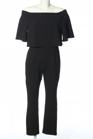 Bodyflirt Jumpsuit schwarz Business-Look