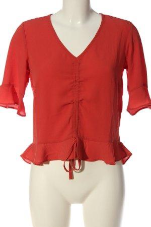 Bodyflirt Bluzka kimono czerwony W stylu casual