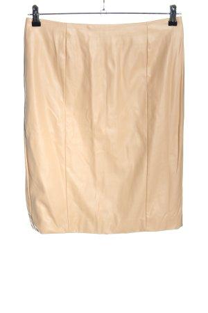 Bodyflirt Faux Leather Skirt cream elegant