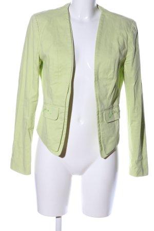 Bodyflirt Kurz-Blazer grün Casual-Look