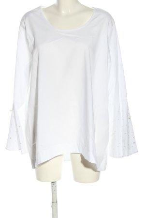 Bodyflirt Bluzka z długim rękawem biały W stylu casual