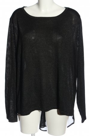 Bodyflirt Bluzka z długim rękawem czarny W stylu casual