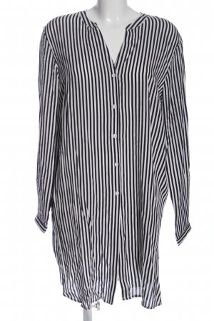 Bodyflirt Langarmhemd schwarz-weiß Streifenmuster Business-Look