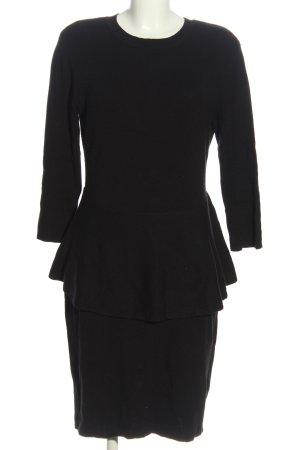 Bodyflirt Langarmkleid schwarz Elegant