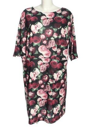 Bodyflirt Sukienka z długim rękawem Wzór w kwiaty W stylu casual