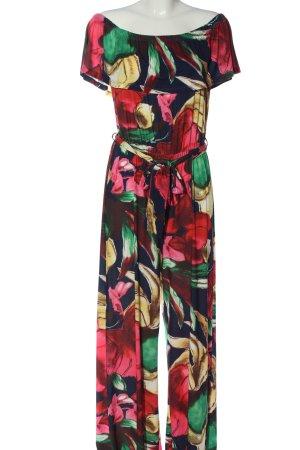 Bodyflirt Langer Jumpsuit abstraktes Muster Elegant