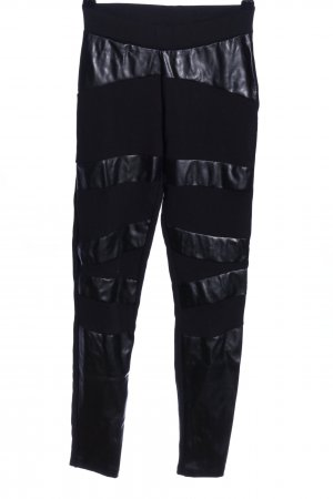 Bodyflirt Leggings schwarz extravaganter Stil