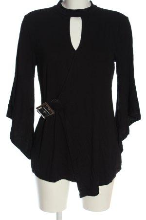 Bodyflirt Longshirt schwarz Elegant