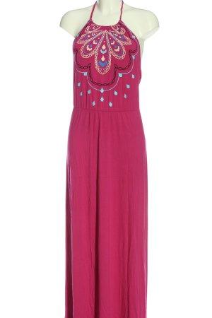 Bodyflirt Maxi-jurk roze casual uitstraling