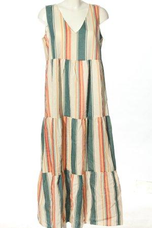 Bodyflirt Maxi Dress striped pattern casual look