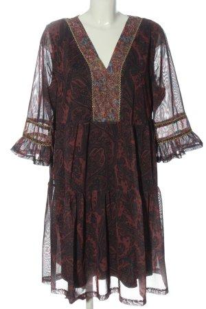 Bodyflirt Midi-jurk Patroon-mengeling casual uitstraling