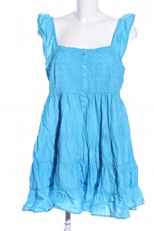 Bodyflirt Minikleid blau Casual-Look
