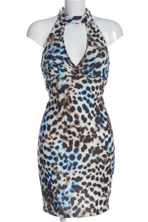 Bodyflirt Mini-jurk volledige print casual uitstraling