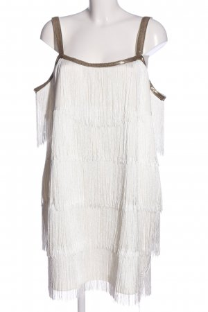 Bodyflirt Minikleid wollweiß-braun Elegant