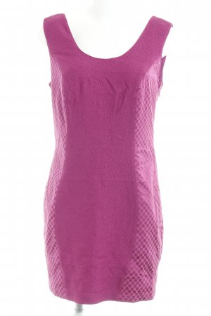Bodyflirt Minikleid violett Punktemuster Elegant