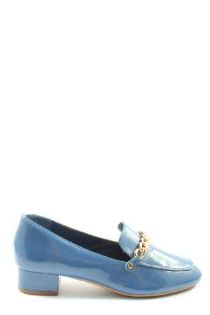 Bodyflirt Mocassins blauw zakelijke stijl