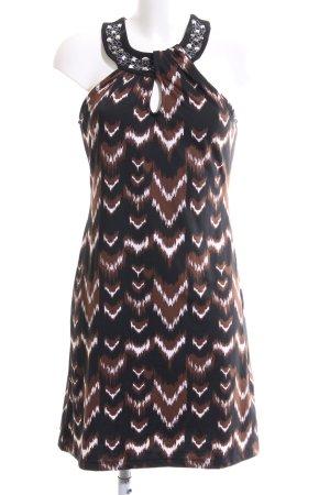 Bodyflirt Vestido de cuello Halter estampado con diseño abstracto look casual