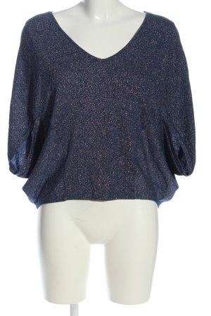 Bodyflirt Oversized Pullover blau Casual-Look