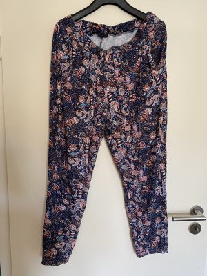 BODY FLIRT Pantalone bloomers blu scuro-salmone