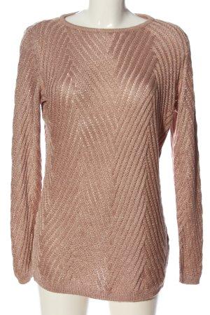 Bodyflirt Sweter z okrągłym dekoltem różowy W stylu casual