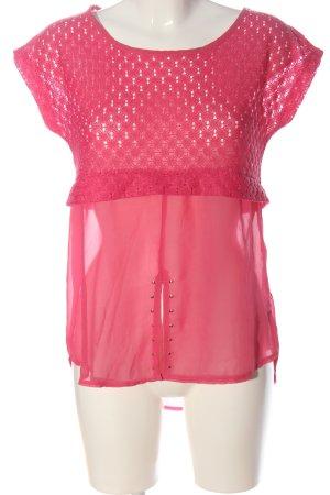 Bodyflirt Slip-over Blouse pink classic style