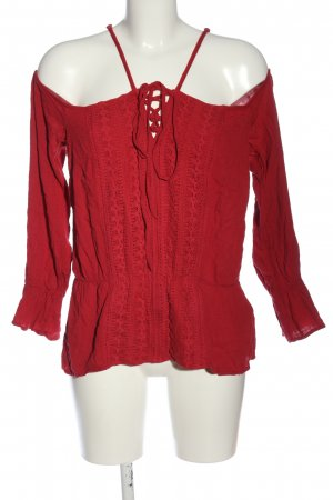 Bodyflirt Schlupf-Bluse rot Casual-Look